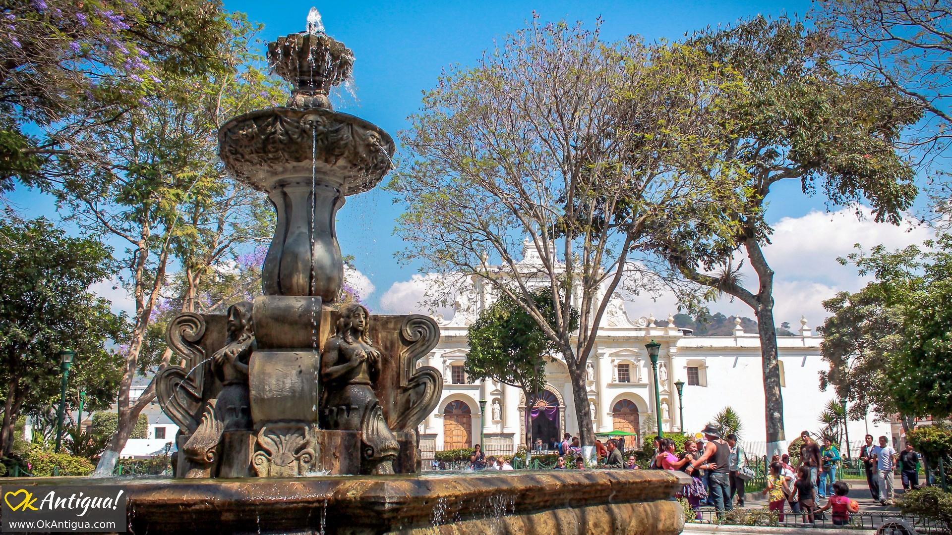 Central Park Antigua Guatemala 2018 Visitors Guide