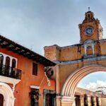 Santa Catalina arch Antigua Guatemala wallpaper