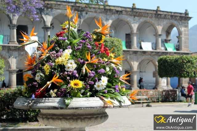 Plaza Mayor Antigua Guatemala
