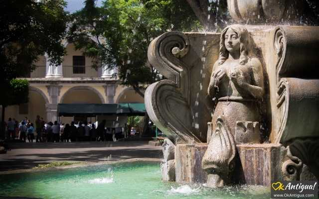 fountain of the sirens antigua guatemala