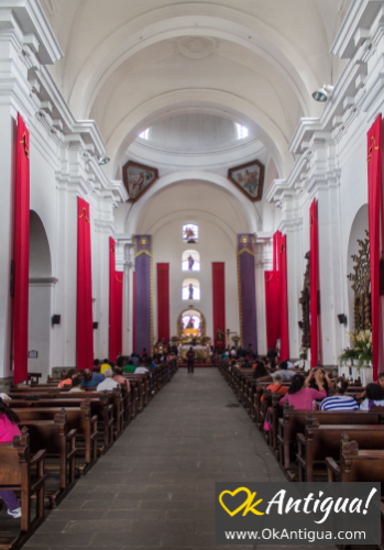 Inside San Francisco Church