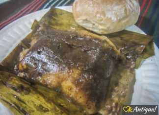 Guatemalan tamales negros