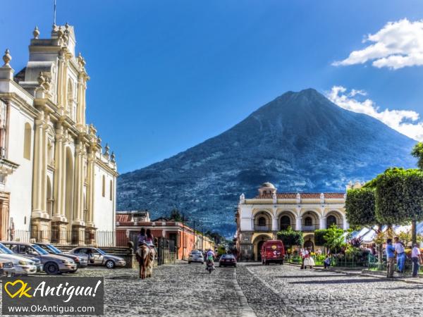 Agua Volcano - Antigua Guatemala