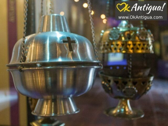 incense burners, semana santa