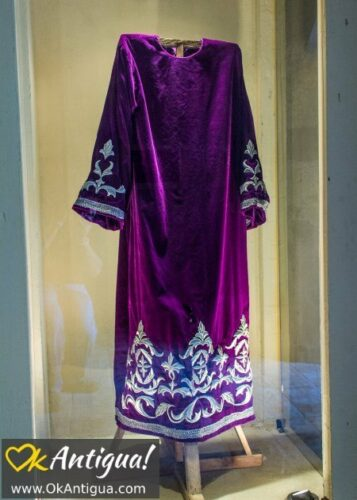 processional robe, holy week museum
