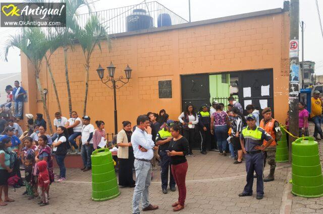 Shelter for survivors in Alotenango