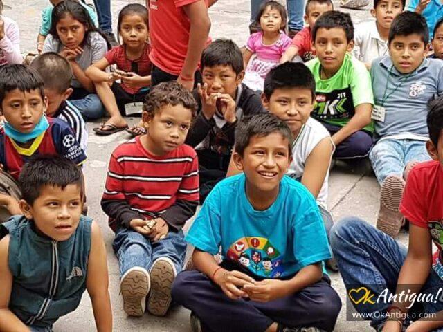 survivor children from Fuego's eruption